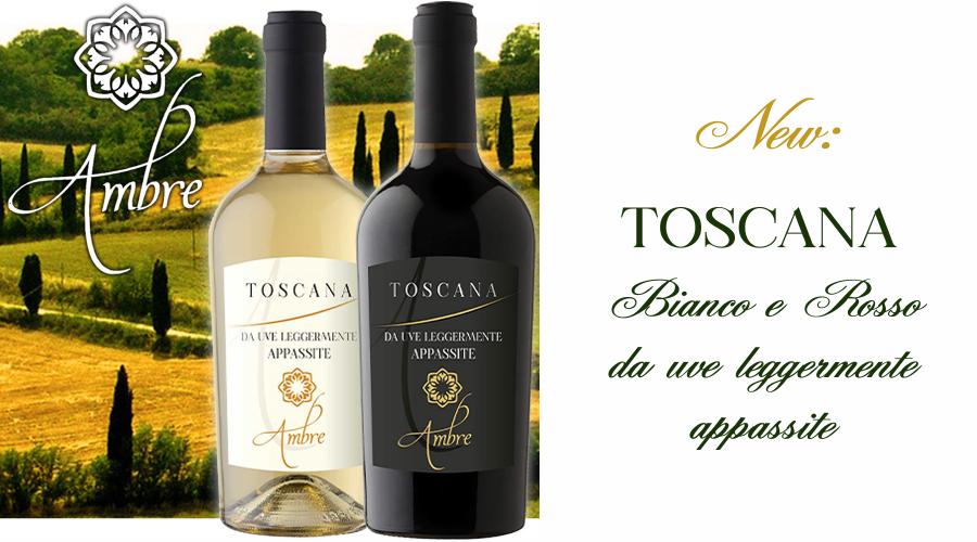 Toscana, Bianco & Rosso da uve leggermente appassite